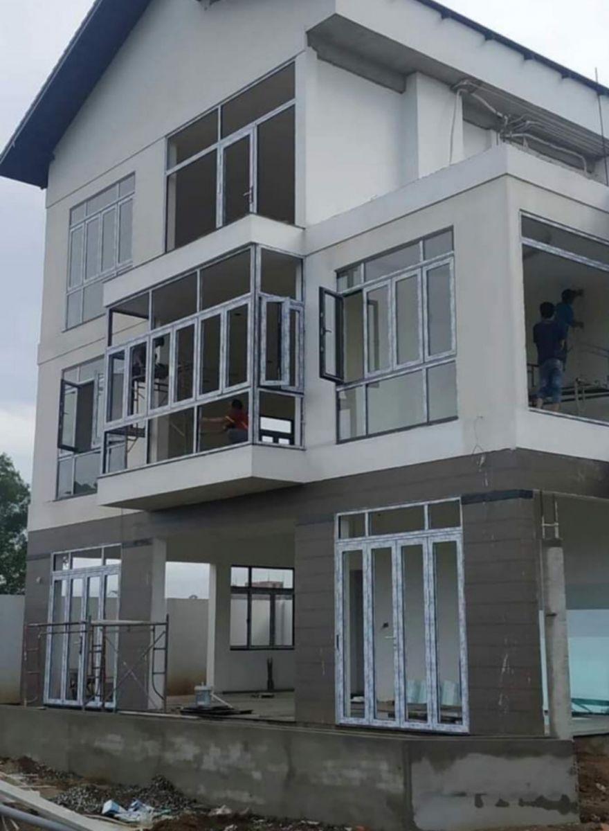 Thi công cửa nhôm xingfa, kính Nhà anh Hồng tại Nguyễn Thượng Hiền, quận 3